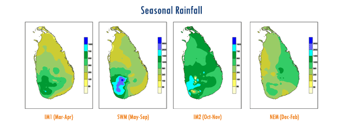 seasonal rainfall